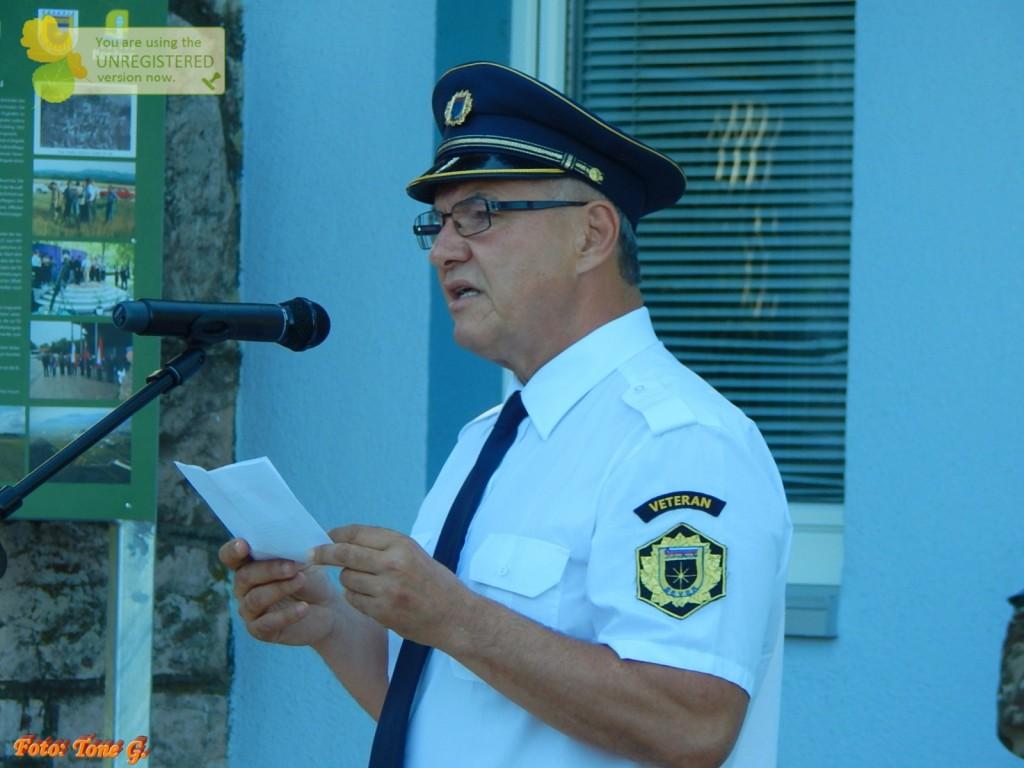 Proslava pred Vojašnico Jerneja MOLANA v Cerkljah ob Krki, 28.6.2019