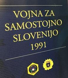 Vabilo na razstavo - Vojna za samostojno Slovenijo 1991