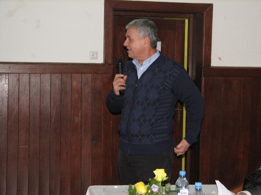 Novo izvoljeni predsednik Roman Kržan